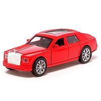 Машина металлическая «Престиж», 1:32, инерция, открываются двери, цвет красный, фото 1