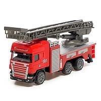 Машина металлическая «Пожарная служба», инерция, МИКС, фото 1