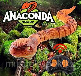 Интерактивная радиоуправляемая змея анаконда