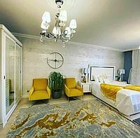 Ковер 200*300 цвет золота Итальянский дизайн 2020