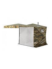 Палатка всесезонная Берег КУБ 1.80 двухслойная, непромокаемый пол из ПВХ, фото 3