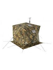 Палатка всесезонная Берег КУБ 1.80 двухслойная, непромокаемый пол из ПВХ, фото 2