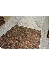 Палатка всесезонная Берег КУБ 2.20 двухслойная, непромокаемый пол из ПВХ, размер 2,2 х 2,02 х 1,9 м., фото 3