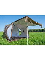 Палатка всесезонная Берег КУБ 2.20 двухслойная, размер 2,2 х 2,02 х 1,9 м., фото 2