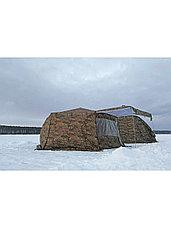 Палатка всесезонная Берег КУБ Гексагон двухслойная, высота 2.1 м., диаметр 4,65 м., площадь 12,57 м², фото 3