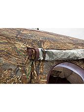 Палатка всесезонная Берег КУБ Гексагон двухслойная, непромокаемый пол из ПВХ, площадь 12,57 м², фото 2