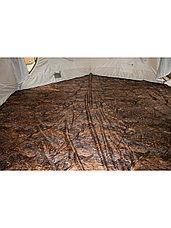 Палатка всесезонная Берег КУБ Гексагон двухслойная, непромокаемый пол из ПВХ, площадь 12,57 м², фото 3