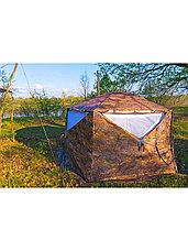 Палатка всесезонная Берег КУБ Пентагон двухслойная, непромокаемый пол из ПВХ, площадь 8,33 м², фото 2