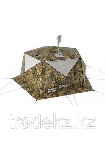 Палатка всесезонная Берег КУБ Пентагон двухслойная, площадь 8,33 м², фото 2