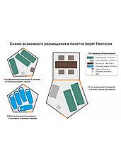 Палатка всесезонная Берег КУБ Пентагон двухслойная, площадь 8,33 м², фото 3