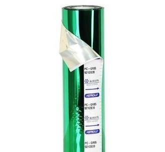 Фольга для применения в ламинаторах PC-GR05 (Зеленая)