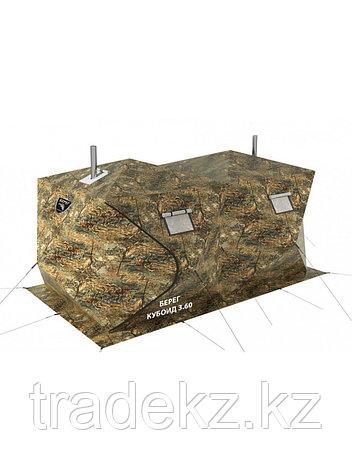 Палатка всесезонная Берег Кубоид 3.60 двухслойная, размер 3,6 x 1,8 x 1,9 м., фото 2