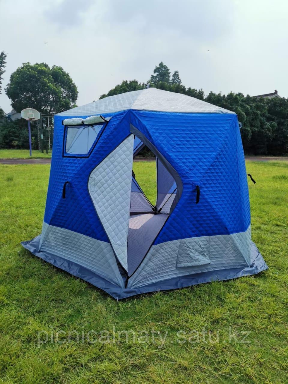 Палатка зимняя шестиугольная - фото 4