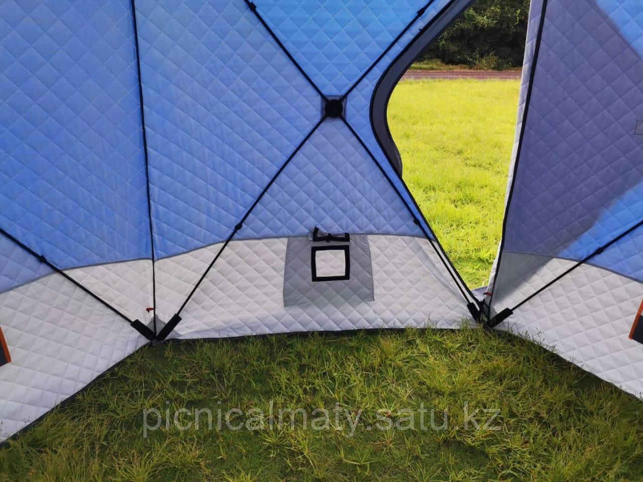 Палатка зимняя шестиугольная - фото 3