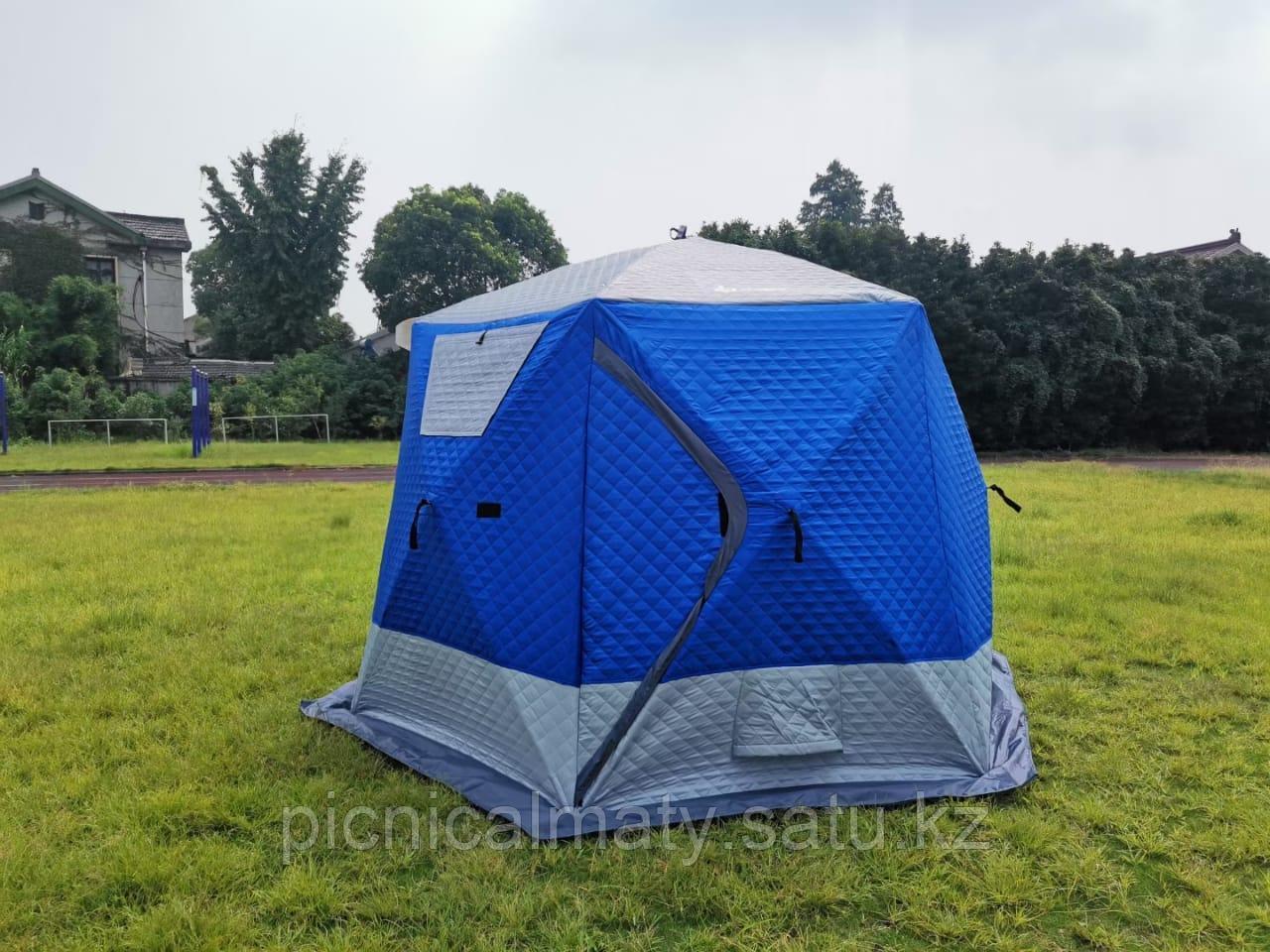Палатка зимняя шестиугольная - фото 2