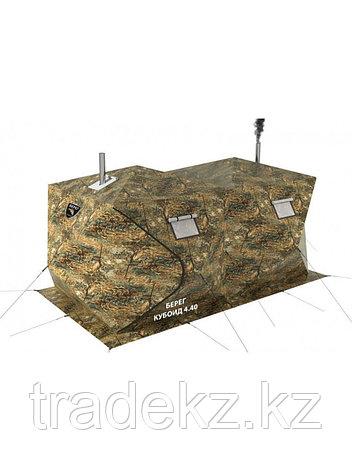Палатка всесезонная Берег Кубоид 4.40 двухслойная, размер 4,4 x 2.2 x 1.9 м., фото 2