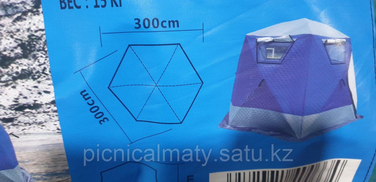 Палатка зимняя шестиугольная - фото 1