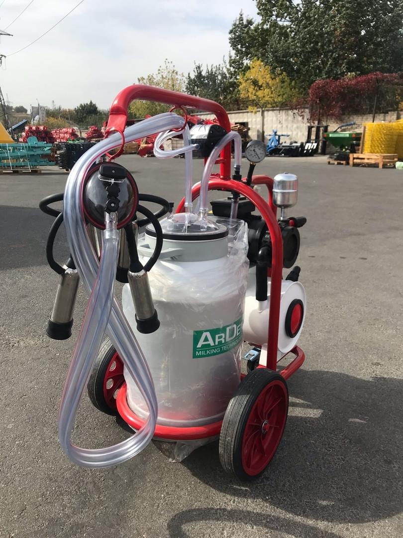 Доильный аппарат для коров 1 пульсатор 1 бидон Arden Турция