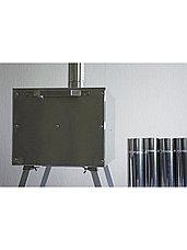 """Печь для зимней палатки Берег """"Экономка"""" Малая стационарные экраны (65 мм.), фото 2"""