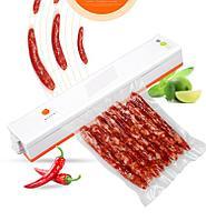 Вакууматор, Вакуумная упаковочная машина для дома +(пищевые пакетики 10 шт. 17*25)