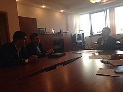 Рабочий визит делегации Promethean 9