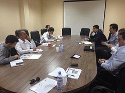 Рабочий визит делегации Promethean 11
