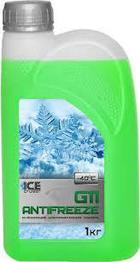 Антифриз Ice Cruizer G11 -35 (1кг/10) зеленый