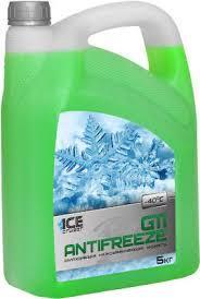 Антифриз Ice Cruizer G11 -35 (5кг/4) зеленый