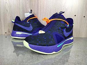 """Баскетбольные кроссовки Paul George 4 """"Purple"""" (40-46), фото 2"""