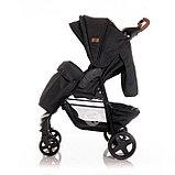 Прогулочная коляска Lorelli Daisy с накидкой на ножки Серый / Dark Grey LIGHTHOUSE 2056, фото 4