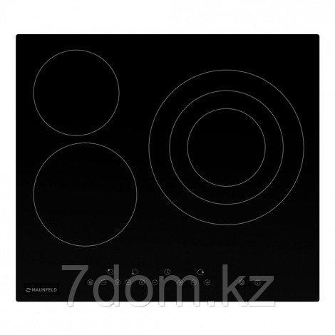 Встраиваемая поверхность Электрическая MAUNFELD EVCE.593.T-BK