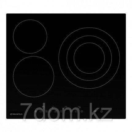 Встраиваемая поверхность Электрическая MAUNFELD EVCE.593.T-BK, фото 2