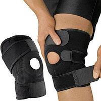 Бандаж для коленного сустава с фиксатором коленной чашечки и регулируемым размером, фото 1