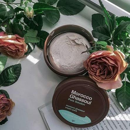 Маска-крем c глиной Too Cool For School Morocco Ghassoul Cream Pack, фото 2