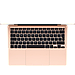 MacBook Air 13-inch 1.1GHz dual-core 10th-generation Intel Core i3 processor, 256GB - Gold, фото 2
