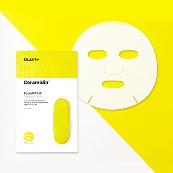 Восстанавливающая тканевая маска с керамидами Dr.Jart+ Ceramidin Facial Mask (Поштучно)