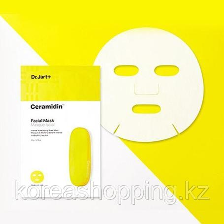 Восстанавливающая тканевая маска с керамидами Dr.Jart+ Ceramidin Facial Mask (Поштучно), фото 2