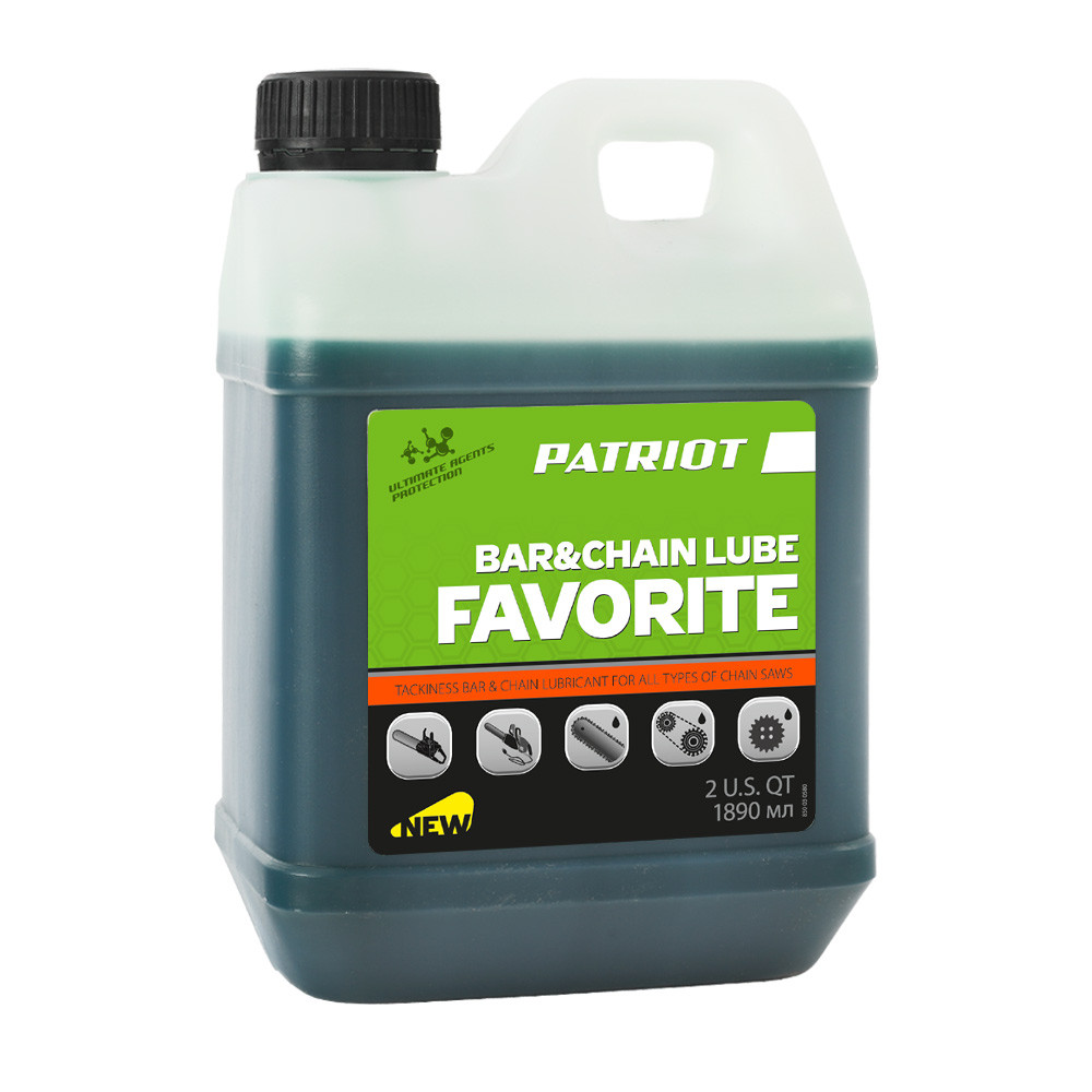 Масло цепное Patriot FAVORITE BAR&CHAIN LUBE 2 л