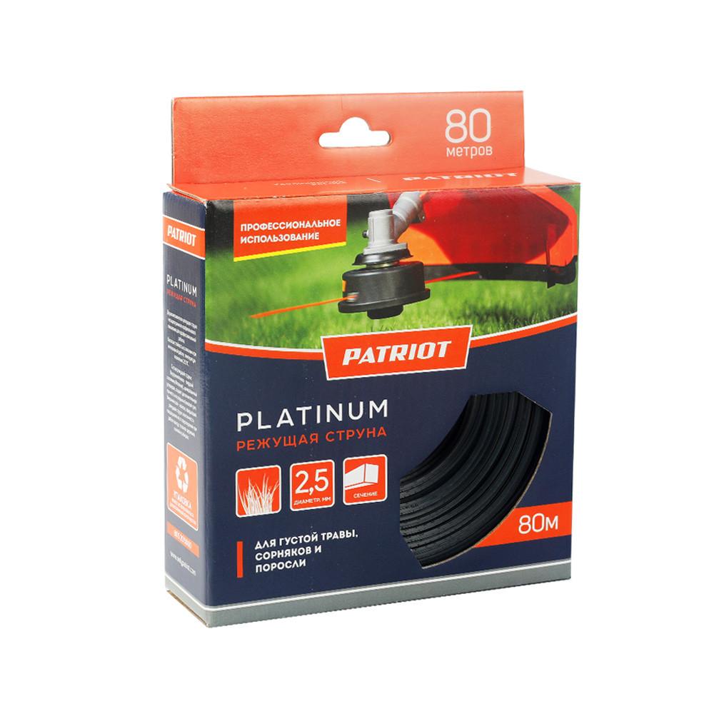 Леска Patriot Platinum D 2,5 мм L 80 м