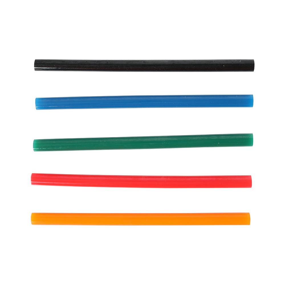 Стержни клеевые EDGE by PATRIOT 11*200мм набор цветных стержней: красных,зеленых,синих,оранжевых,чер