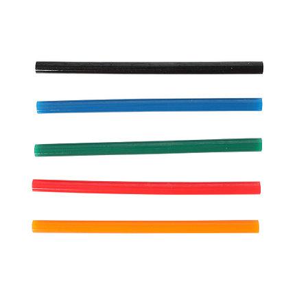 Стержни клеевые EDGE by PATRIOT 11*200мм набор цветных стержней: красных,зеленых,синих,оранжевых,чер, фото 2