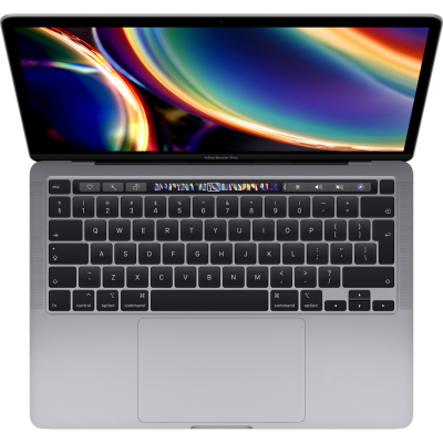 MacBook Pro 13-inch with Touch Bar 2.0GHz quad-core 10th-generation Intel Core i5 processor, 1 TB Space Grey