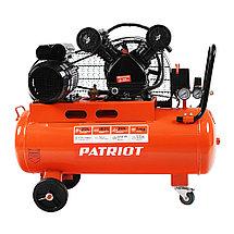 Компрессор поршневой ременной Patriot LRM 50-430R, фото 2