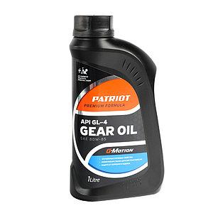 Масло трансмиссионное Patriot G-Motion Gear 80W-85