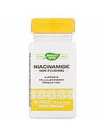 Nature's way, Никотинамид (Ниацинамид), 500 мг, 100 растительных капсул