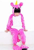 Кигуруми Ярко-розовый единорог детский
