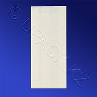 Россия Пакет бумажный 22,0х9,0х4,0см белый для выпечки жиростойкий 35гр/м2 100шт/уп