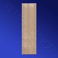 Россия Пакет бумажный 30,0х10,0х5,0см коричневый 40гр/м2 100 шт/уп
