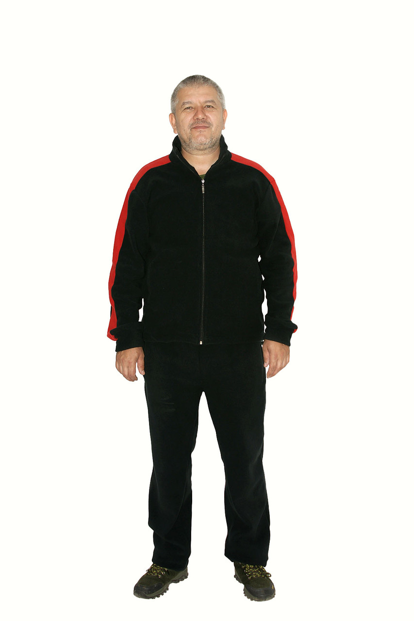 Спортивный теплый костюм осень-зима для мужчин - фото 1