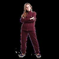 Спортивный теплый костюм для девушек осень-зима